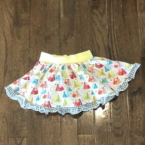 Matilda Jane campy circle tent skirt